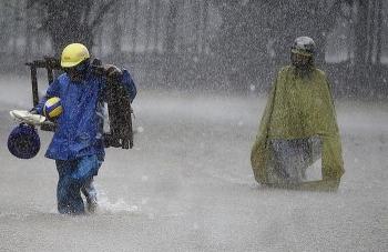Bão số 13 gió giật cấp 15, Hà Tĩnh đến Quảng Nam mưa rất to từ ngày mai