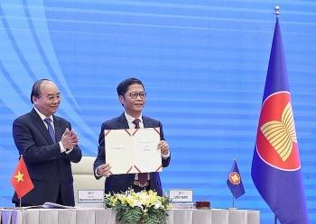 15 nước ký kết Hiệp định Đối tác Kinh tế toàn diện khu vực