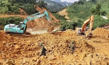 Thừa Thiên Huế nối lại việc tìm kiếm các nạn nhân mất tích tại thủy điện Rào Trăng 3