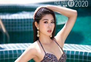 """""""Bỏng mắt"""" với hình thể của top 35 Hoa hậu Việt Nam 2020 trong bộ ảnh bikini"""