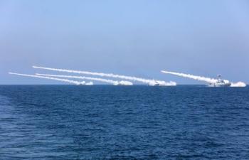 Trung Quốc tập trận gần 2 tuần ở Biển Đông