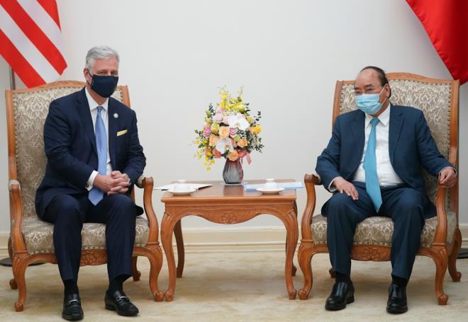 Mỹ coi trọng quan hệ đối tác toàn diện với Việt Nam - 1