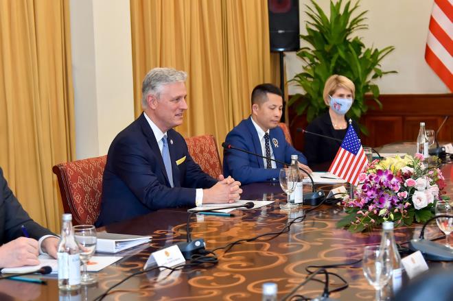Mỹ coi trọng quan hệ đối tác toàn diện với Việt Nam - 2