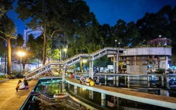 Hồ Con Rùa sẽ thành phố đi bộ chất lượng cao