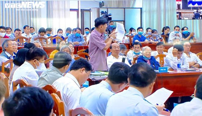 nguoi dan thu thiem de nghi thanh tra chinh phu lam ro viec mat ban do