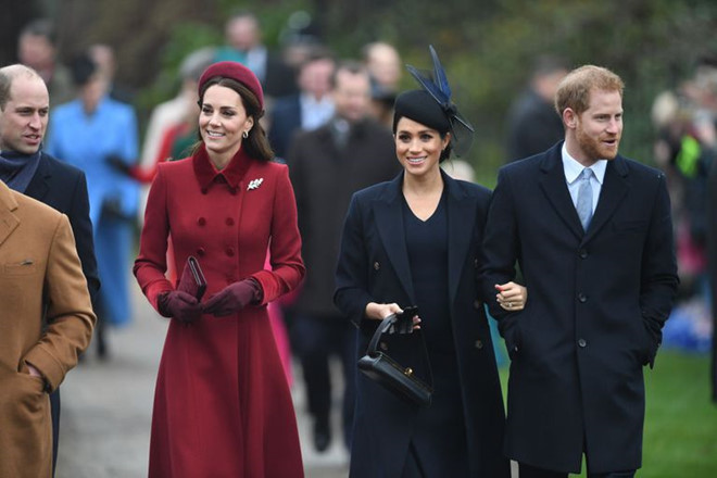 kate middleton va meghan markle xuat hien rang ro sau tin don bat hoa
