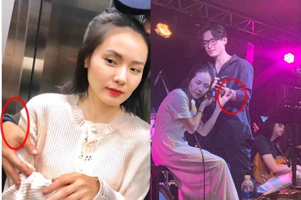 Phương Linh công khai thoát ế ở tuổi 35 bằng bức ảnh khóa môi bạn trai, dân mạng gọi tên Hà Anh Tuấn