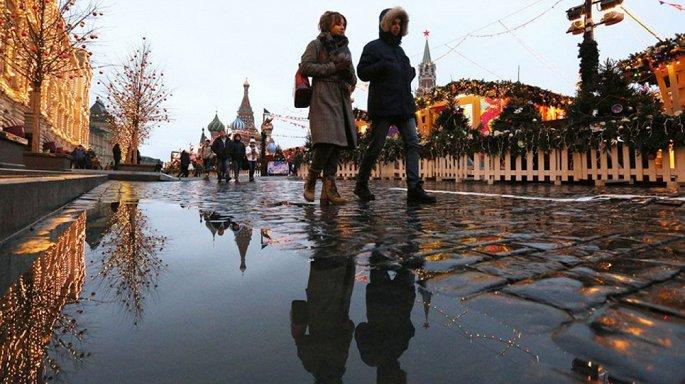 Kỳ dị Matxcơva và nhiều thành phố ở Nga không có tuyết tháng 12