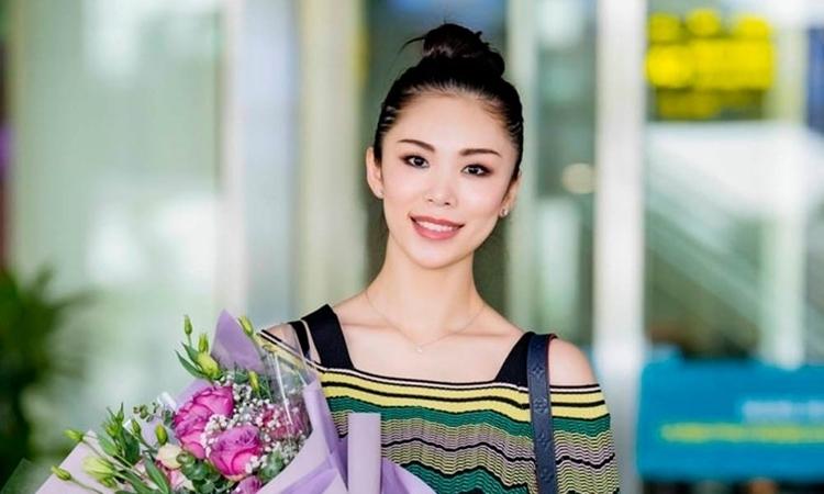 Hoa hậu Riyo Mori diễn vedette cho Công Trí