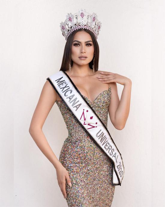 Andrea Meza trở thành Hoa hậu Hoàn vũ Mexico 2020.