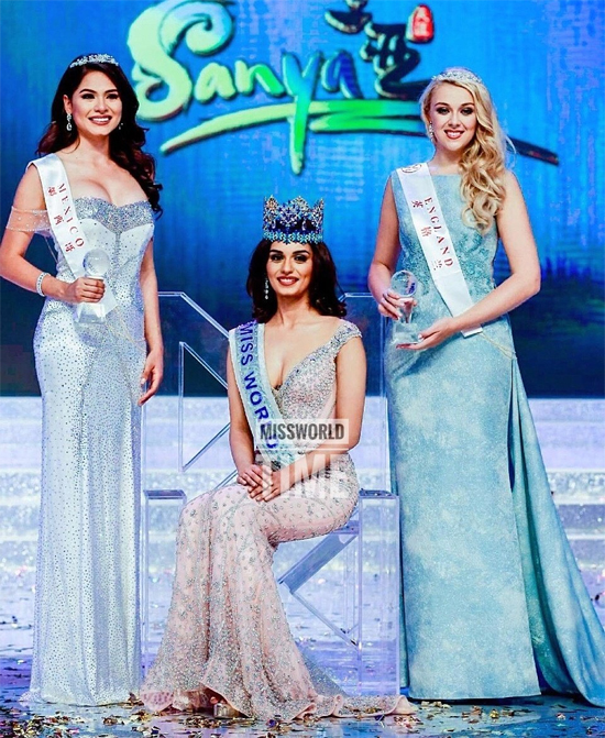 Người đẹp Mexico (trái) là Á hậu 1 tại Miss World 2017.
