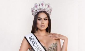 Á hậu Miss World 2017 đăng quang Hoa hậu Hoàn vũ Mexico 2020