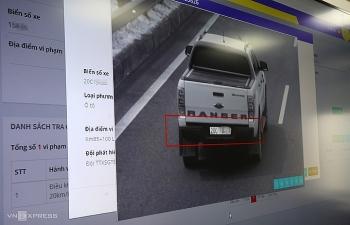 """""""Mắt thần"""" ghi nhận hàng nghìn vi phạm giao thông trên cao tốc"""