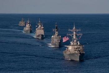 Nhật, Pháp, Mỹ dự định tập trận chung vào tháng 5