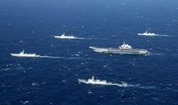 Trung Quốc thông báo tập trận bắn đạn thật ở Biển Đông sau khi tàu Mỹ đi qua