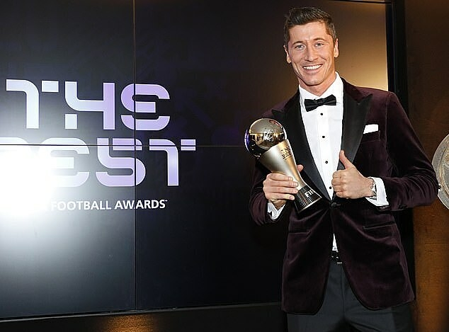 Lewandowski giành giải The Best 2020