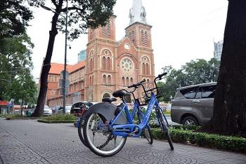 Thí điểm xe đạp công cộng ở trung tâm Sài Gòn