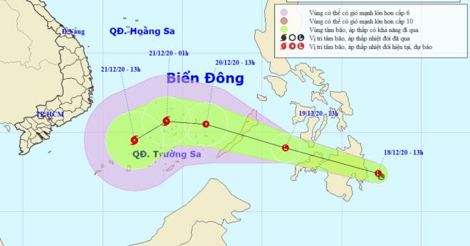 bien dong sap hung bao vung nui phia bac co the xuat hien bang gia