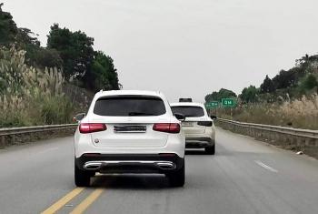 Nhiều tài xế che biển số khi đi trên cao tốc