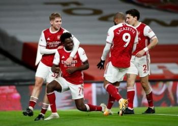 Kết quả Ngoại Hạng Anh: Werner tịt ngòi 10 trận, Chelsea thảm bại trước Arsenal