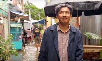 Trấn Thành tái hiện Sài Gòn ngập nước trong