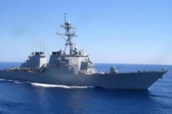 Tàu chiến Mỹ đi qua eo biển Đài Loan lần thứ hai trong tháng