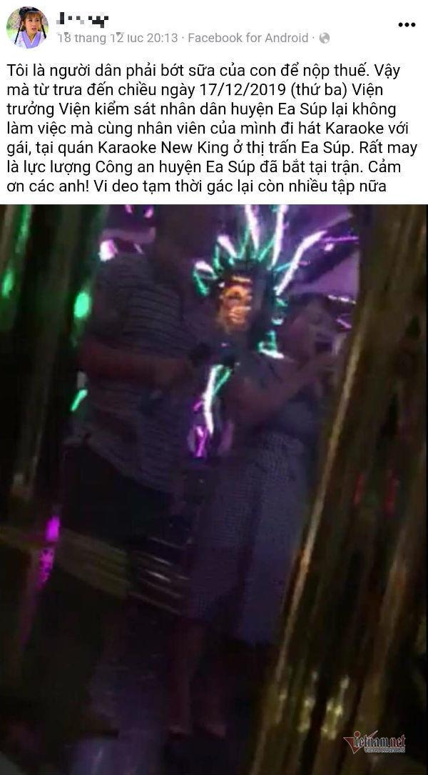 se xu ly vien truong ksnd o dak lak di hat karaoke trong gio hanh chinh