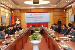 Lễ ký hợp đồng sản xuất sợi DTY giữa VNPOLY và SSFC (Đài Loan)