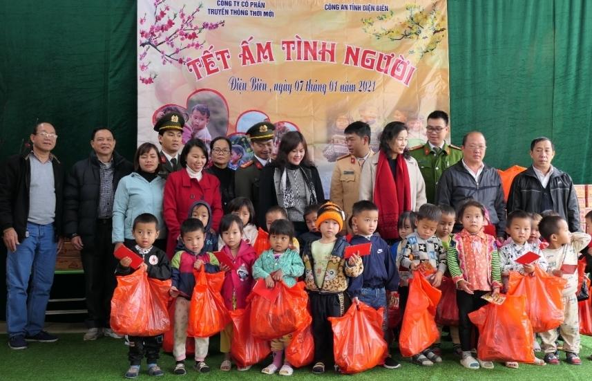 Công ty CP Truyền thông Thời Mới và hành trình lan tỏa hơi ấm tình người tại Điện Biên - Lai Châu