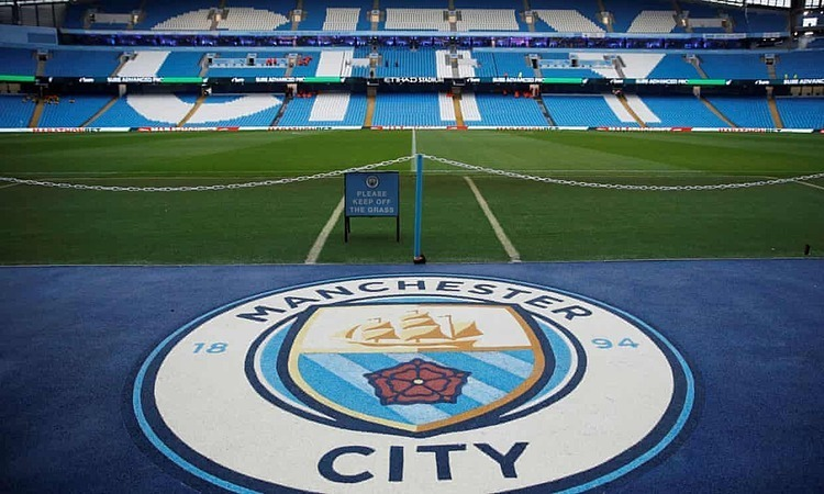 man city bi cam du champions league