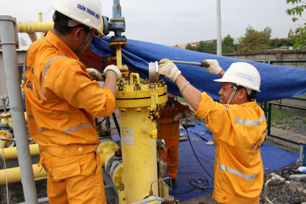 pv gas noi nguoi lao dong duoc cham lo toan dien