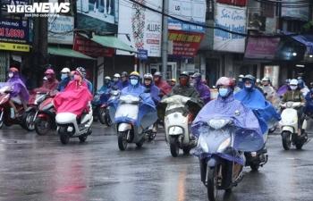 Thời tiết ngày mùng 5 Tết: Không khí lạnh tràn về, miền Bắc mưa từ chiều tối nay