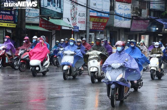 Thời tiết ngày mùng 5 Tết: Không khí lạnh tràn về, miền Bắc mưa từ chiều tối nay - 1