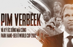 pim verbeek va ky uc song mai cung park hang seo o world cup 2002