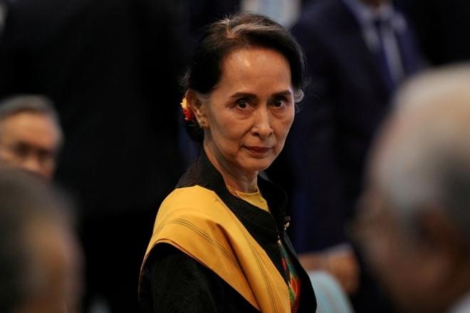 Bà Suu Kyi lần đầu xuất hiện sau khi bị quân đội Myanmar bắt giữ - 1