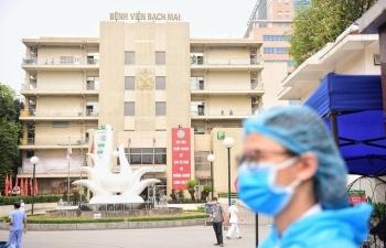 Bệnh viện Bạch Mai bị