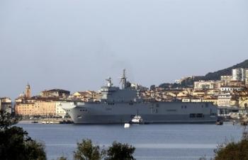 Pháp tiếp tục điều chiến hạm tới Biển Đông