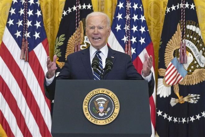 Ông Biden tuyên bố Mỹ không để Trung Quốc 'vượt mặt', thống trị thế giới - 1