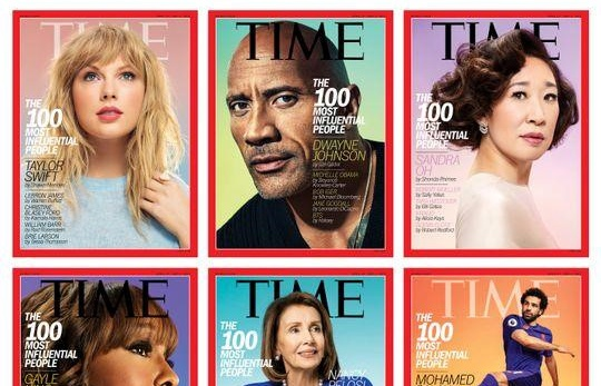 the rock taylor swift lot top 100 nhan vat co anh huong nhat the gioi