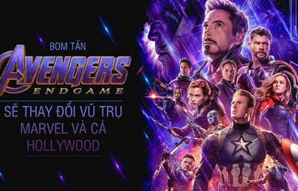 bom tan avengers endgame se thay doi vu tru marvel va ca hollywood