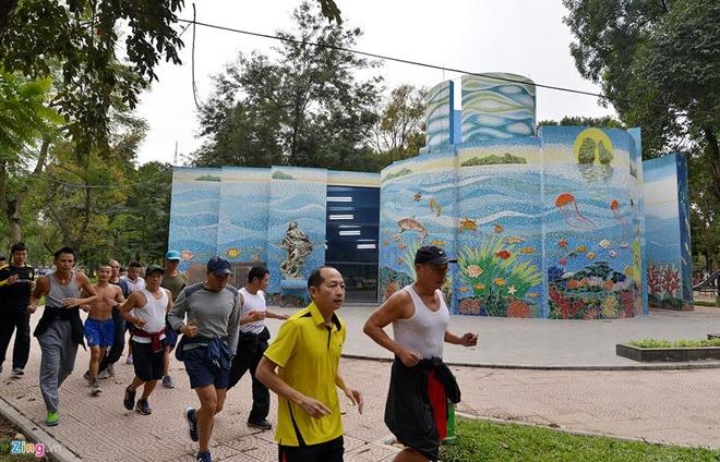 Công viên Thống Nhất thu gần 4 tỷ đồng mỗi tháng