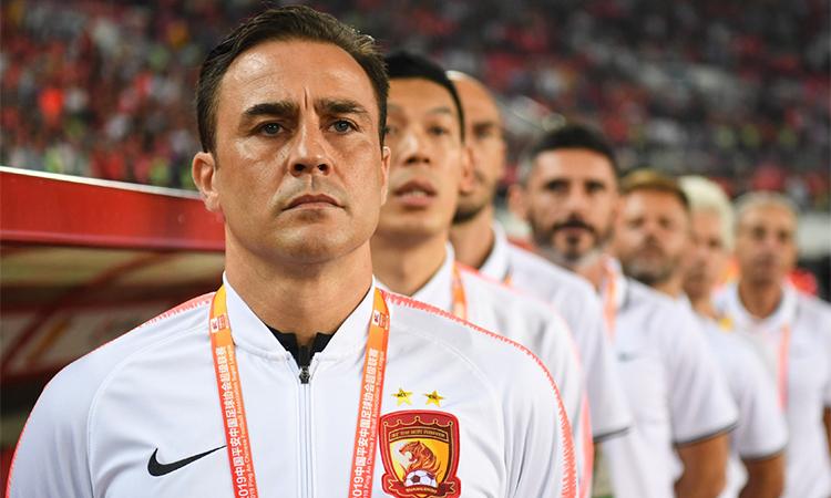 cannavaro va tam thu gui italy