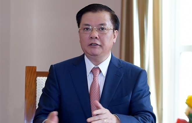 Ông Đinh Tiến Dũng làm Bí thư Thành ủy Hà Nội