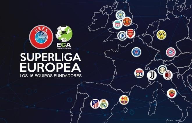 Super League ra đời: 12 CLB lớn nhất châu Âu tự lập giải đấu mới