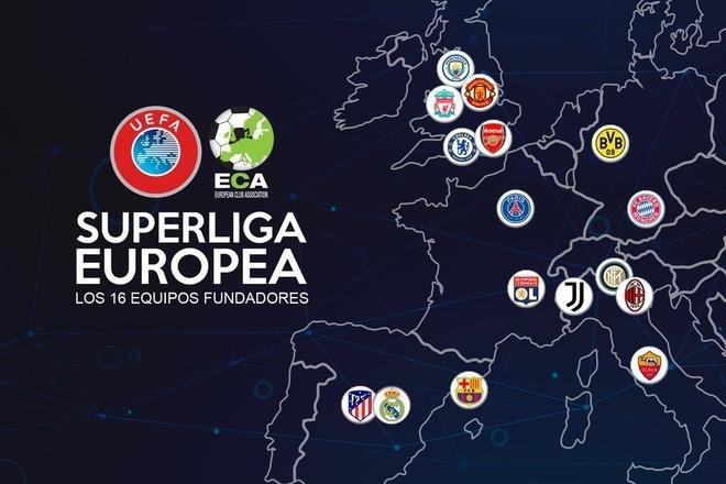Super League ra đời: 12 CLB lớn nhất châu Âu tự lập giải đấu mới - 1