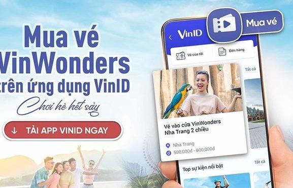 """VinID mở """"cánh cửa thần kỳ"""" đến thế giới giải trí VinWonders ưu đãi tới 32%"""