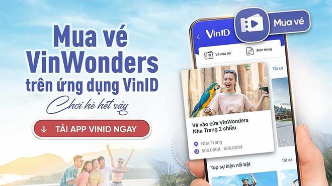 """VinID mở """"cánh cửa thần kỳ"""" đến thế giới giải trí VinWonders ưu đãi tới 32% ảnh 3"""