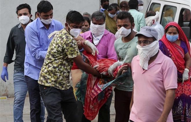 Ấn Độ lại lập kỷ lục mới ca mắc COVID-19/ngày