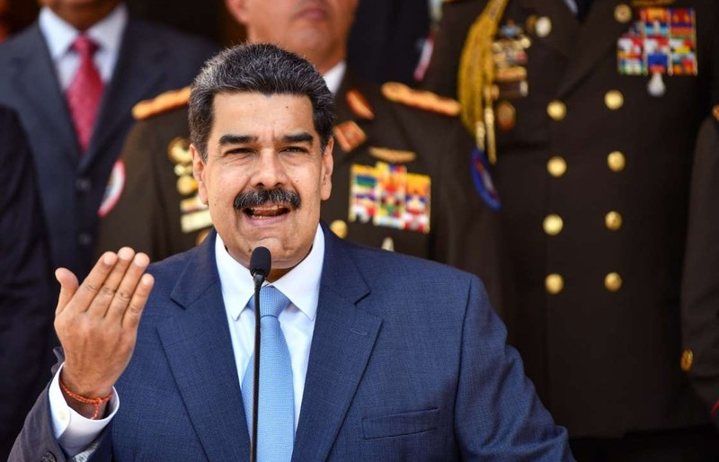tong thong maduro venezuela va iran khong bao gio quy goi truoc my