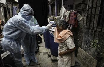Ngày tang tóc tại Ấn Độ: 3.523 người tử vong do COVID-19/ngày